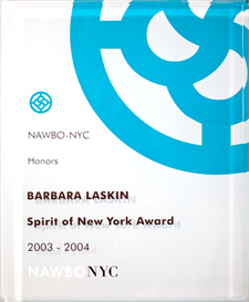 Spirit of New York Award